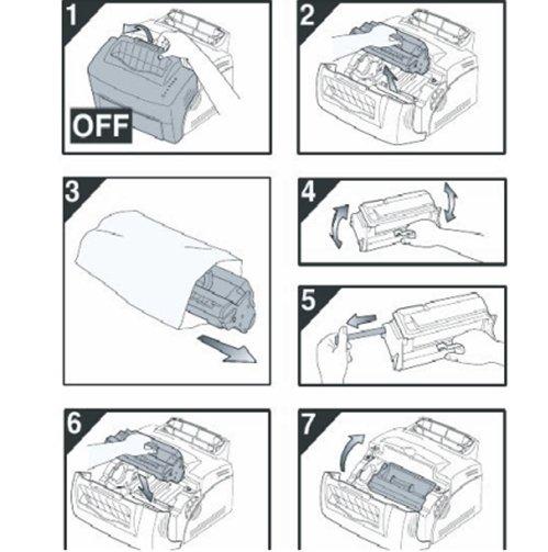 Các bước thay hộp mực máy in hp 1102