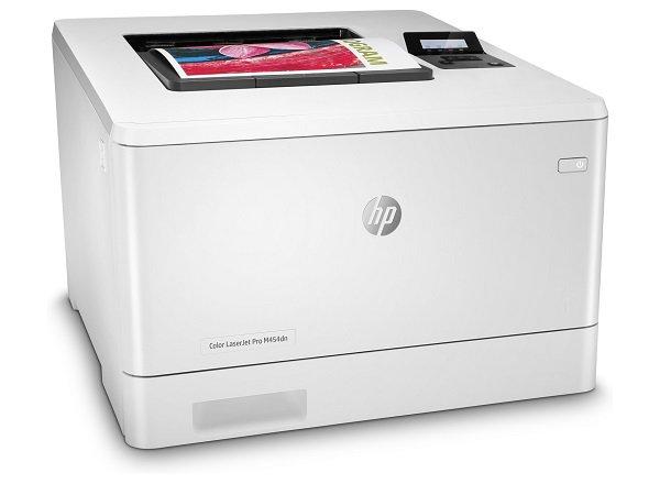 Nạp mực in màu HP Pro M4454dn