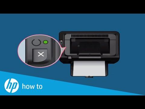 Hướng dẫn cài máy in HP 1102w qua mạng Wifi