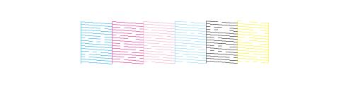 Bảng test lưới kiểm tra báo mực in không đều